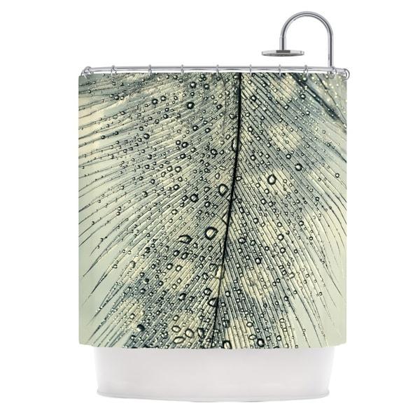 KESS InHouse Ingrid Beddoes Feather Light Shower Curtain (69x70)
