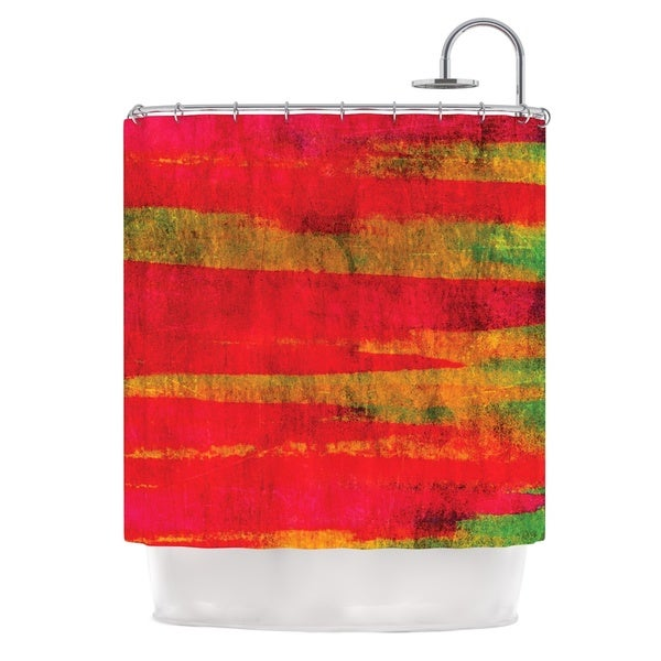 KESS InHouse Ebi Emporium Fierce Shower Curtain (69x70)