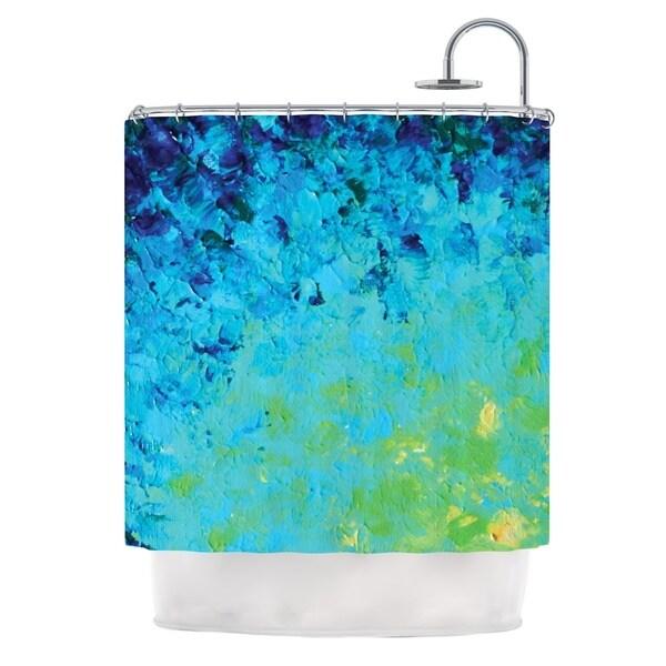 KESS InHouse Ebi Emporium True Reflection Shower Curtain (69x70)
