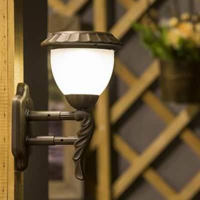 Sconce Hurricane Lantern Solar LED Light