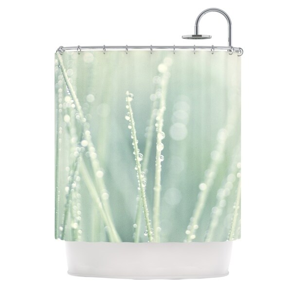 KESS InHouse Ingrid Beddoes Blue Ice 2 Shower Curtain (69x70)