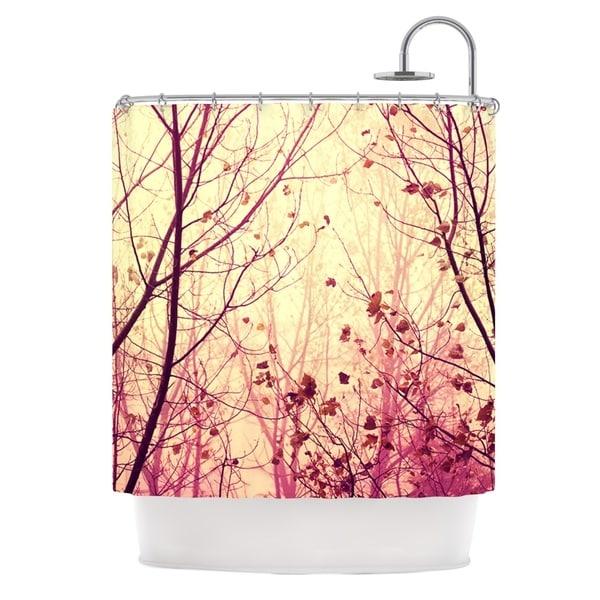 KESS InHouse Ingrid Beddoes My Secret Garden Shower Curtain (69x70)