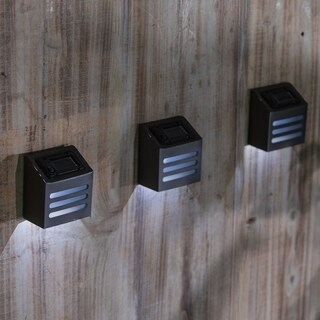 Set of 3 Solar Step Lights