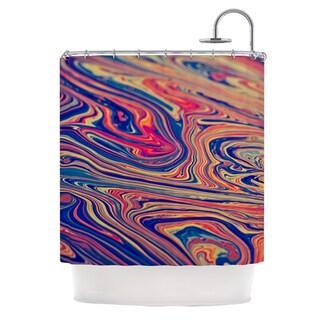 KESS InHouse Ingrid Beddoes Soap & Water Shower Curtain (69x70)