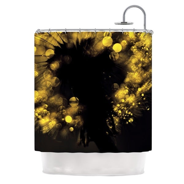 KESS InHouse Ingrid Beddoes Moonlight Dandelion Shower Curtain (69x70)