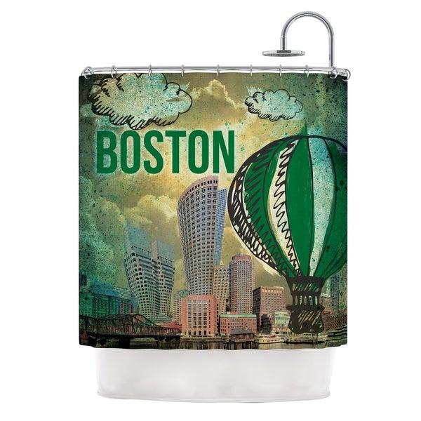 KESS InHouse iRuz33 Boston Shower Curtain (69x70)