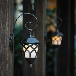 Set of 2 Solar Sconces