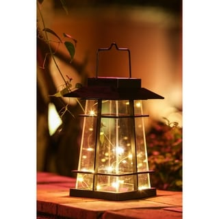 Starry Night Solar LED Lantern