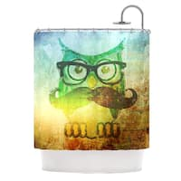 KESS InHouse iRuz33 Howly Shower Curtain (69x70)