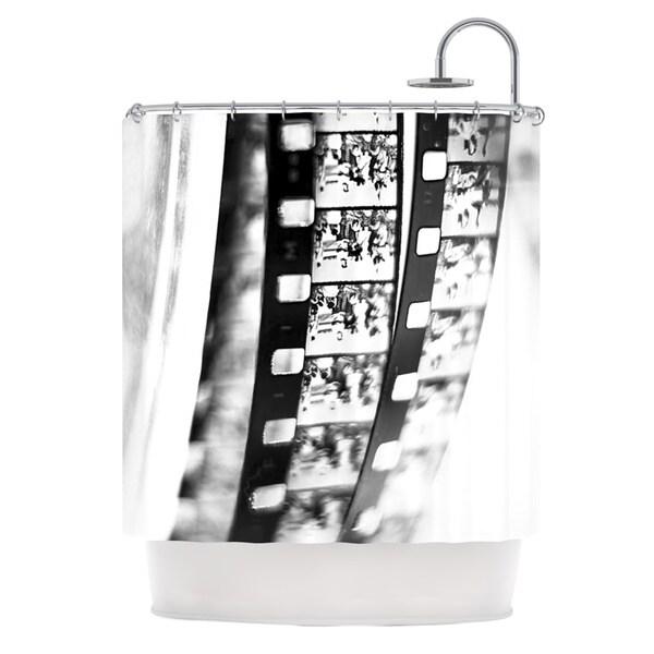 KESS InHouse Ingrid Beddoes Memories Filmstrip Shower Curtain (69x70)