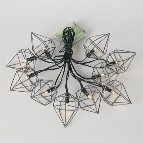 Metal Prism String Lights (12.8ft)
