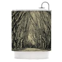 KESS InHouse Ingrid Beddoes Where Trees Still Whisper Shower Curtain (69x70)