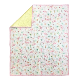 Oliver Gal Signature Collection 'Aloha' Crib Quilt Coverlet