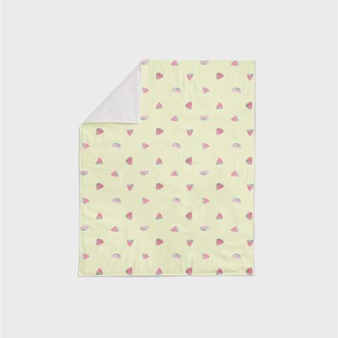 Oliver Gal Signature Collection 'Waltermelon' Minky Blanket