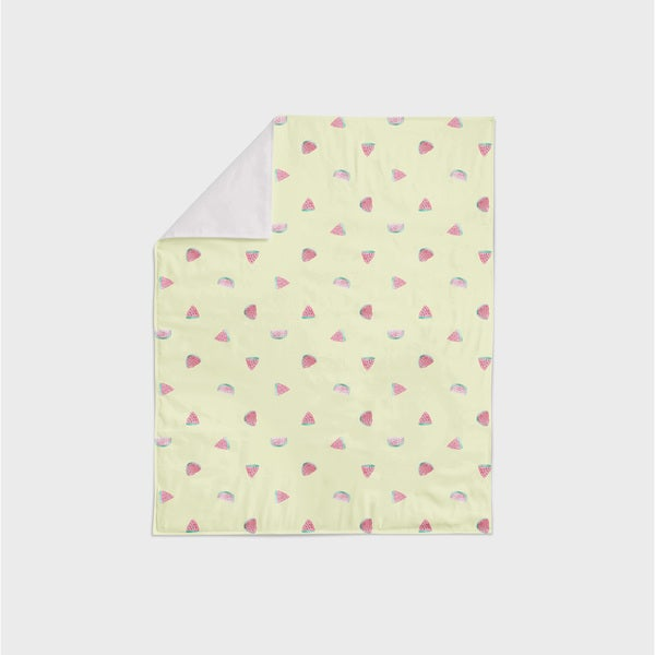 Oliver Gal Signature Collection 'Waltermelon' Minky Blanket. Opens flyout.