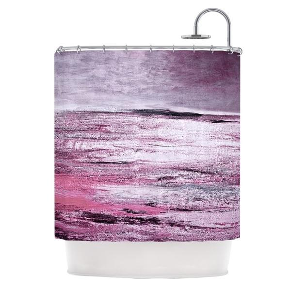 KESS InHouse Iris Lehnhardt Sea Pink Shower Curtain (69x70)