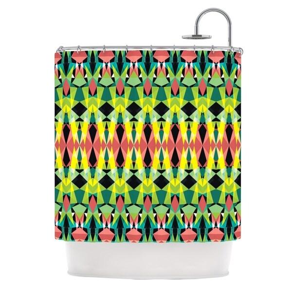 KESS InHouse Akwaflorell T-Vision Shower Curtain (69x70)