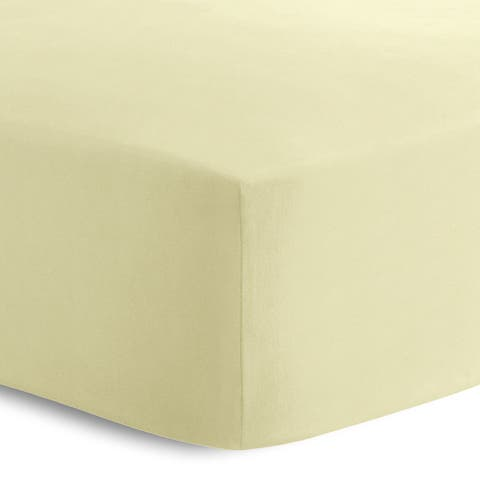 Oliver Gal Signature Collection 'Yellow' Crib Sheet