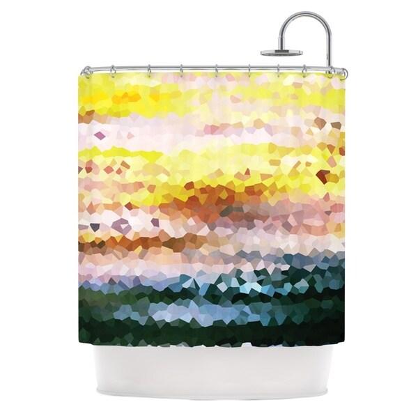 KESS InHouse Iris Lehnhardt Turaluraluraluuu Pixel Shower Curtain (69x70)