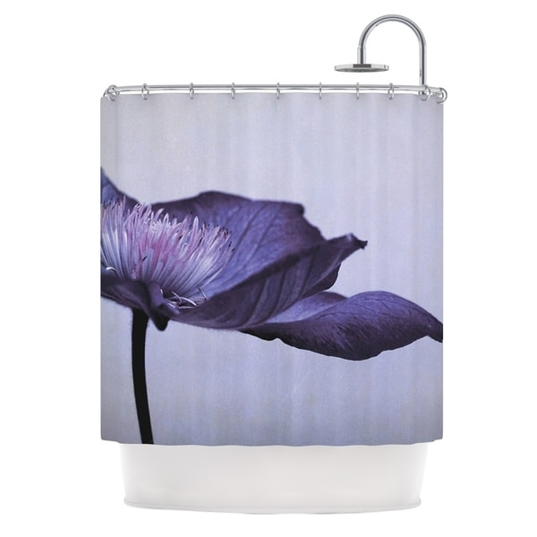 KESS InHouse Iris Lehnhardt Indigo Purple Sky Shower Curtain (69x70)