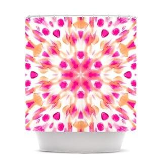 """KESS InHouse Iris Lehnhardt """"Batik Mandala"""" Shower Curtain (69x70)"""