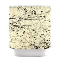 KESS InHouse Iris Lehnhardt Boughs Neutral Shower Curtain (69x70)