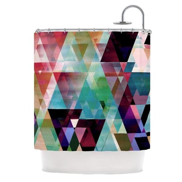 KESS InHouse Gabriela Fuente Splash Shower Curtain (69x70)