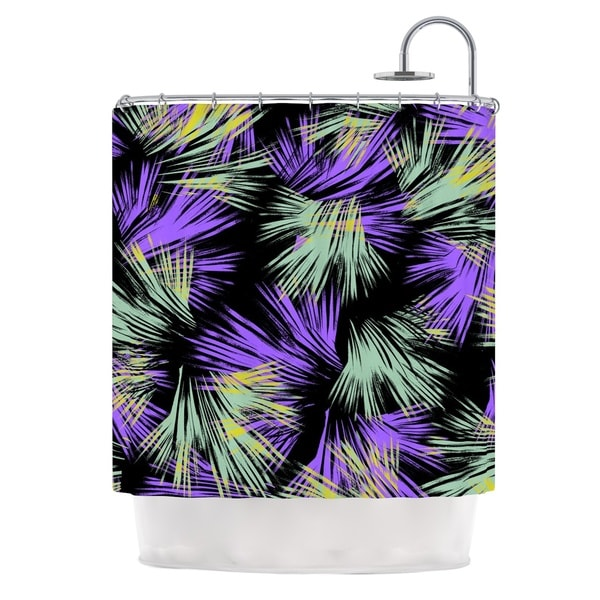 KESS InHouse Gabriela Fuente Tropical Fun Shower Curtain (69x70)