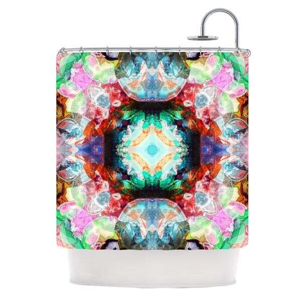 "KESS InHouse Danii Pollehn ""Achat II"" Multicolor Shower Curtain (69x70) - 69 x 70"