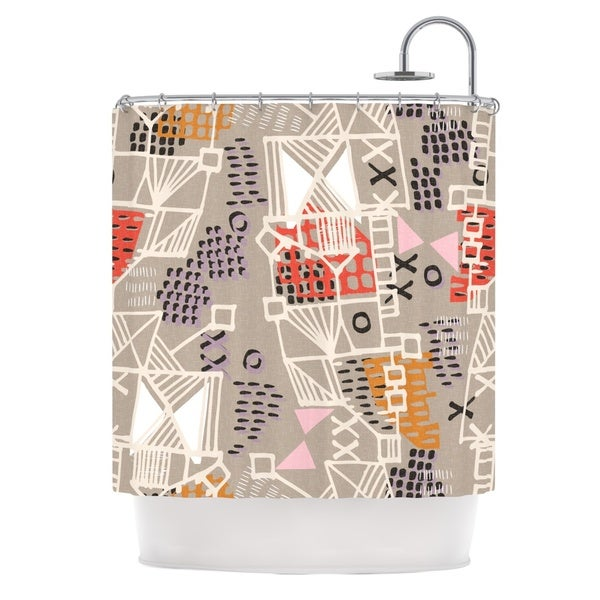 KESS InHouse Gill Eggleston Nico Shower Curtain (69x70)
