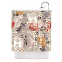 KESS InHouse Gill Eggleston Nico Shower Curtain (69x70)