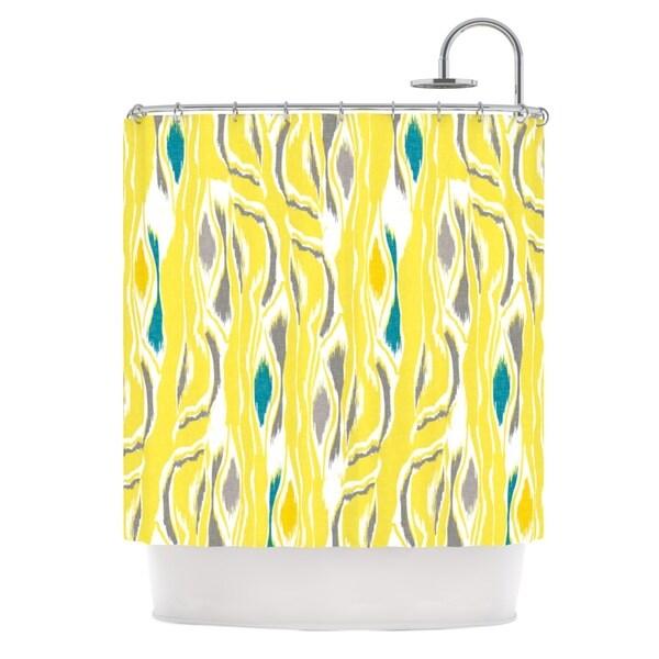 KESS InHouse Gill Eggleston Barengo Sunshine Shower Curtain (69x70)