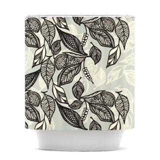 KESS InHouse Gill Eggleston Java Leaf Shower Curtain (69x70)