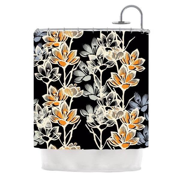 KESS InHouse Gill Eggleston Crocus Shower Curtain (69x70)