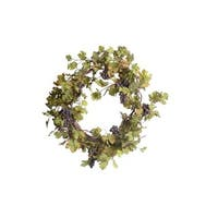 Gold Eagle 36-inch Grape Leaves with Grapes Wreath