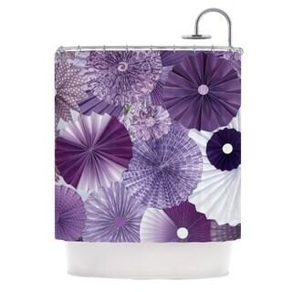 KESS InHouse Heidi Jennings Lavender Wishes Purple Shower Curtain (69x70)