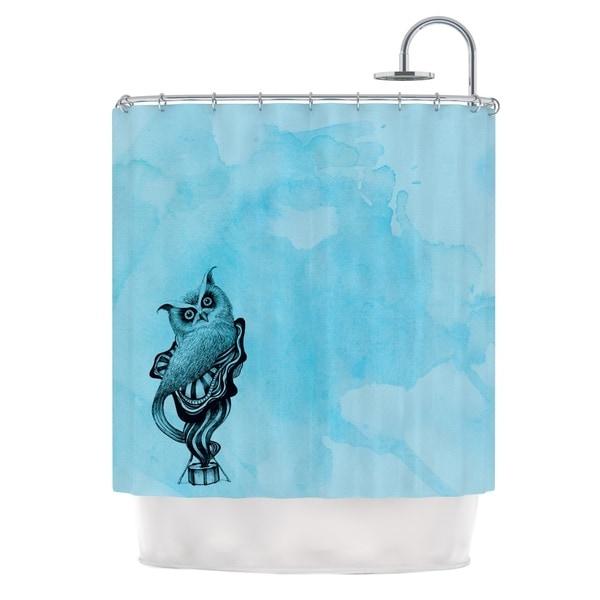 KESS InHouse Graham Curran Owl III Shower Curtain (69x70)