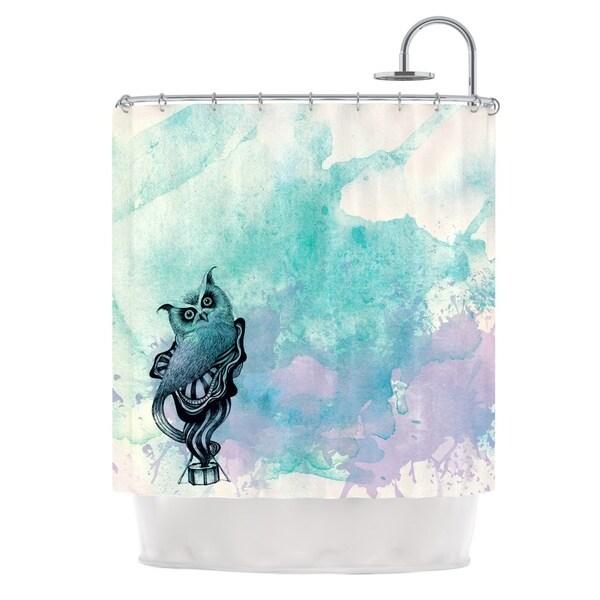 KESS InHouse Graham Curran Owl II Shower Curtain (69x70)