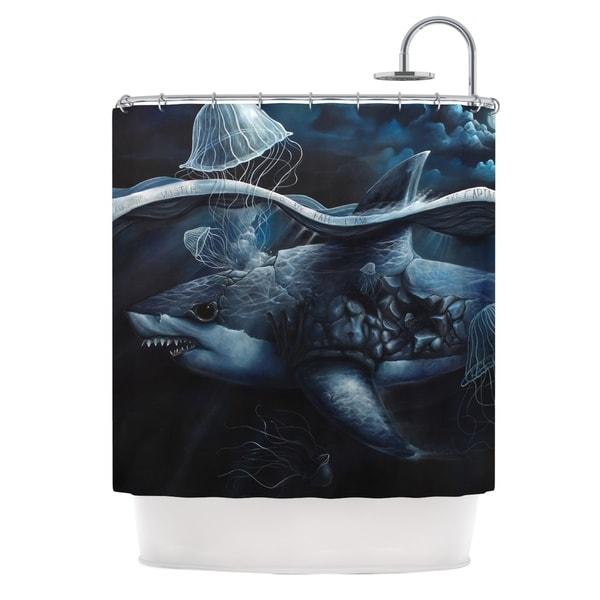 KESS InHouse Graham Curran Invictus Shower Curtain (69x70)