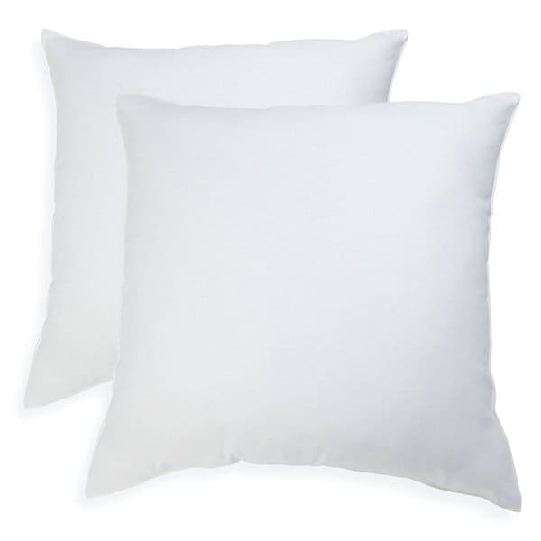 26 x 26-inch Euro Square PIllows (Set of 2)