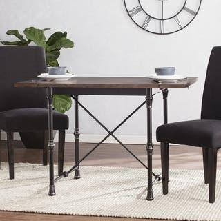 Harper Blvd Bayfield Industrial/Farmhouse Drop-Leaf Dining Table|https://ak1.ostkcdn.com/images/products/15095147/P21583108.jpg?impolicy=medium