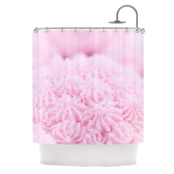 KESS InHouse Debbra Obertanec Cupcake Pink Sparkle Shower Curtain (69x70)
