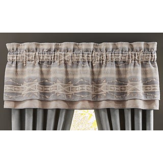 Ansonia 72X20 Double Layer Curtain Valance