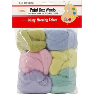 Paint Box Wools .33oz 6/Pkg