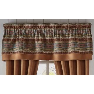 Croscill El Capitan 72X20 Double Layer Curtain Valance