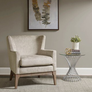 Madison Park Skylar Cream Accent Chair
