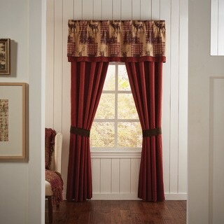 Glendale 82X84 Rod Pocket Curtain Panel Pair - N/A