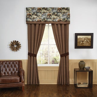 Kodiak 82X84 Rod Pocket Curtain Panel Pair - N/A
