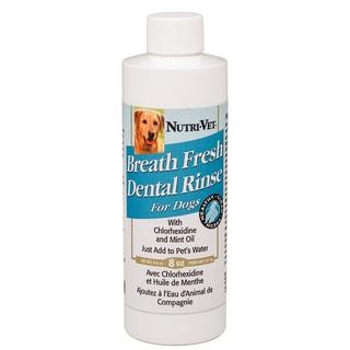 Nutri Vet Nutritionals 8 Oz Breath Fresh Dental Rinse For Dogs