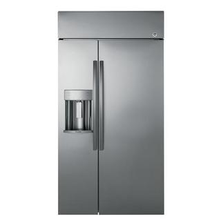 "PSB48YSKSS 48"" built-in Side by Side Refrigerator"